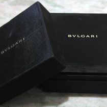 Bulgari rare vintage watch box external silk men's watch