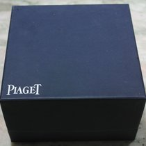 Piaget vintage used watch box blu with outer box