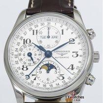 浪琴 (Longines) Master Collection Moon Phase Chronograph 99% New...