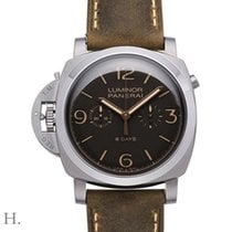 Panerai LUMINOR 1950 CHRONO MONOPULSANTE LEFT-HANDED 8 DAYS...