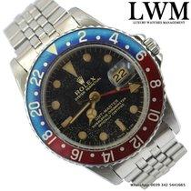 Rolex GMT Master 1675 glossy gilt dial very rare 1965's