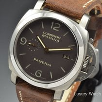 Panerai Luminor 1950 3 Days Titanium Automatic 44MM Brown PAM 351