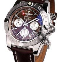 Breitling AB042011.Q589.437X Chrono GMT Herren 44mm 50ATM