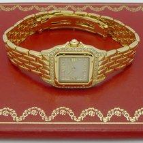 Cartier Panthère 18ct GOLD DAMEN QUARTZUHR mit BRILLANTEN
