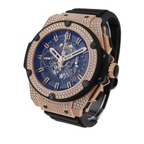 Hublot 701.OX.0180.RX.1704 King Power Unico King Gold - Paved...