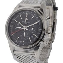 Breitling AB045112/BC67-154A Transocean Chronograph GMT in...