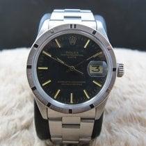 Rolex OYSTER DATE 1501 Original Matt Black SIGMA Dial with...