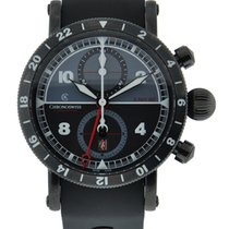 Chronoswiss Timemaster Gmt Dlc Steel Case Black / Grey Dial On...