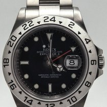 Rolex Explorer 2 16570 Black Dial Complete 40mm Men's...