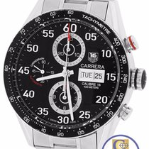 TAG Heuer Carrera Calibre 16 Chronograph Day-Date Stainless Watch