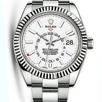 Rolex Oyster Perpetual Stainless Steel 42mm Sky-Dweller Watch