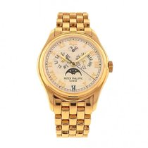 百達翡麗 (Patek Philippe) Annual Calendar 5036J 18k Yellow Gold...