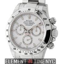 勞力士 (Rolex) Daytona Stainless Steel 40mm White Dial Ref. 116520