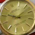 Rolex Men's 18K Solid Gold Rolex Oyster Perpetual Gold Watch