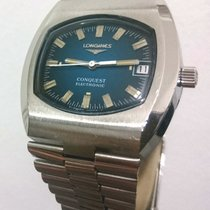 Longines Conquest Electronic 1521-1 Cal. 7212 37mm Green Steel