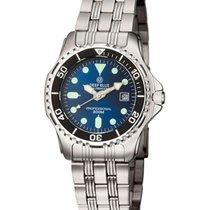 Deep Blue Sea Princess Ladies Watch 200m Wr 34mm Ss Case/brace...