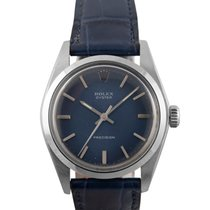 Rolex Oyster  Steel Precision with Blue Dial, 6426