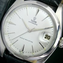 Tudor Oysterdate Winding Silver Dial Steel Mens Watch 7962