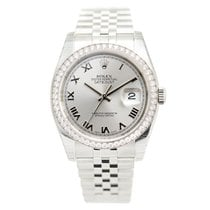 勞力士 (Rolex) Datejust Stainless Steel With Diamonds Gray...