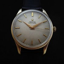 Zenith Vintage Oversize 18k Gold Automatic 50's