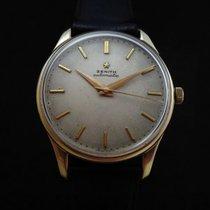 제니트 (Zenith) Vintage Oversize 18k Gold Automatic 50's