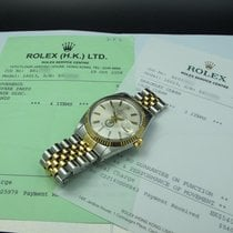 Rolex DATEJUST 16013 Original Silver Dial with Saudi Arabia...