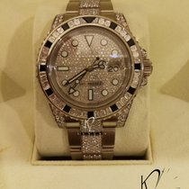 Rolex GMT Master II Diamond & Black Sapphire - Very Rare