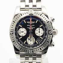 Breitling Chronomat 41 Airborne Ab0144 Black Dial With Strap...