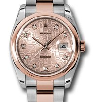 Rolex 116201 Datejust Stainless Steel & Everose Gold...
