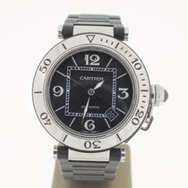 Cartier Pasha Seatimer 40mm steel/Rubber (B&P2006) MINT...
