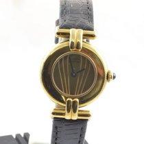 Cartier Vendome Must De Cartier Damen Uhr 925 Silber Vergoldet...