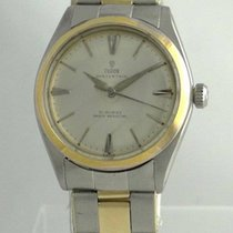 Tudor 1960 Vintage  Oyster Thin Two Tone Case By Rolex 14k...