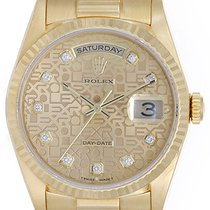 Rolex Men's Rolex President Day-Date Watch 18238 Champagne...