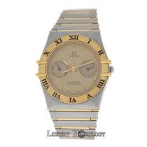 Omega Men's  Constellation Chronometer Day Date 18K Gold 32MM