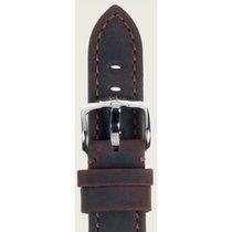 Hirsch Uhrenarmband Terra Kalbsleder braun L 04633010-2-20 20mm