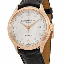 Baume & Mercier Clifton Automatic Silver - Red Gold 10104