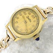ZentRa Vintage Damenuhr Ø 21,0 mm - 585/14K Gelbgold - Handaufzug