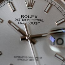 Rolex OYSTER PERPETUAL DATEJUST silver dial