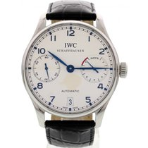 IWC Men's IWC Portuguese 7 Day Power Reserve Automatic SS...