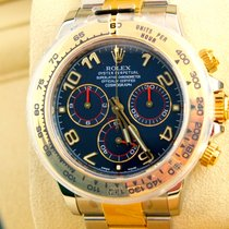 "Rolex Daytona ""Racing Blue"" LC 100 Deutsch  Neu &..."
