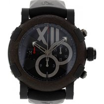 Romain Jerome Titanic DNA CH.T.OXY3.BBBB.00.BB Black Satin-Fin...