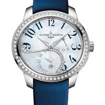 Ulysse Nardin Jade Stainless Steel & Diamonds Ladies Watch