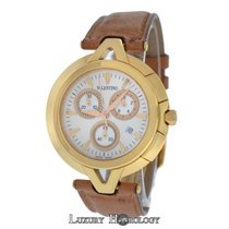 Valentino New Men V51LCQ5002-S497 Gold Tone Quartz $2,450...