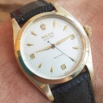 Rolex oyster solid 9ct gold precision watch 6426 dated 1960