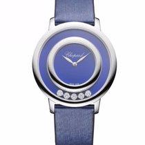Chopard Happy Sport Icons 18K White Gold, Lapis Lazuli &...