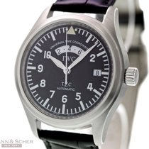 IWC Fliegeruhr UTC Ref-3251 Stainless Steel Box Bj-2002 IWC...