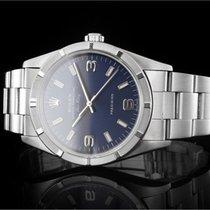 Rolex Air-King (34mm) Ref.: 14010M aus 2004 mit blauem...