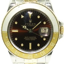 "Rolex ""GMT-Master"" Tiger Eye-Nipple dail. Gold/steel"