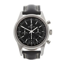 Breitling Transocean Chronograph Stainless Steel Gents...