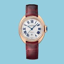 Cartier CLÉ 31 Rotgold Leder -NEU- incl. VAT Export possible